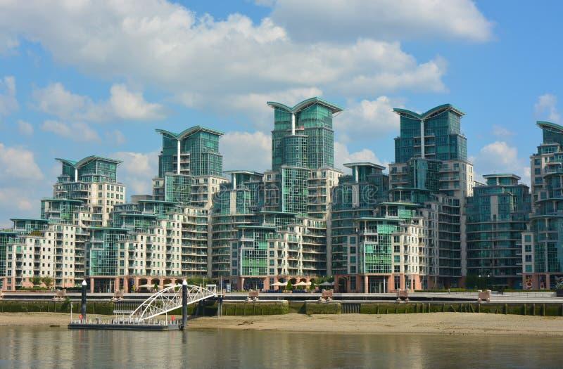 Complexe d'appartements de luxe photo libre de droits