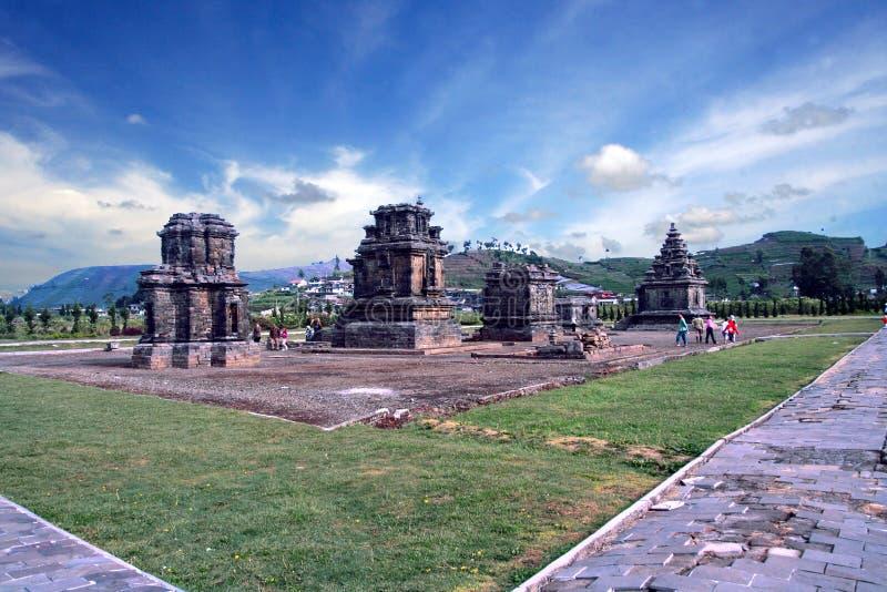 Complexe de Candi Arjuna photos libres de droits