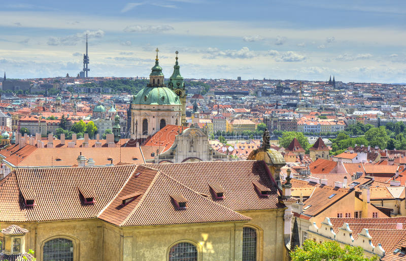 Complexe de château de Prague photo libre de droits