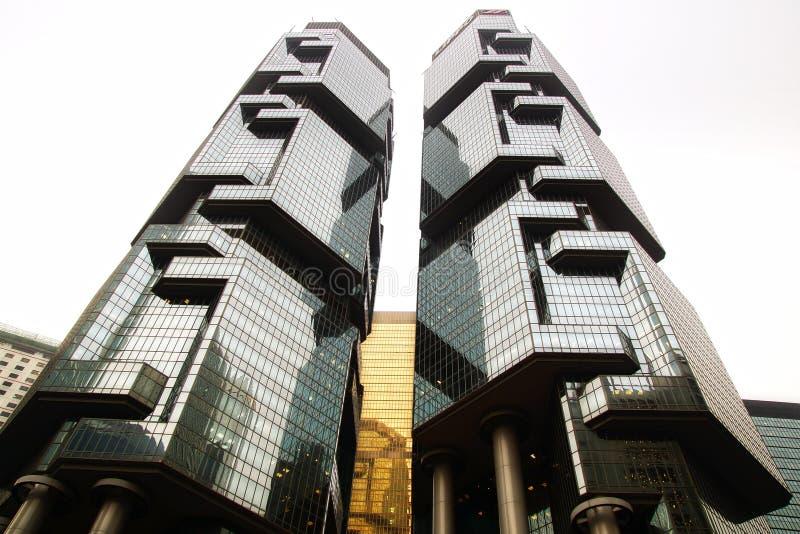 Complexe de gratte-ciel de Centre-jumeau-tour de Lippo. image libre de droits