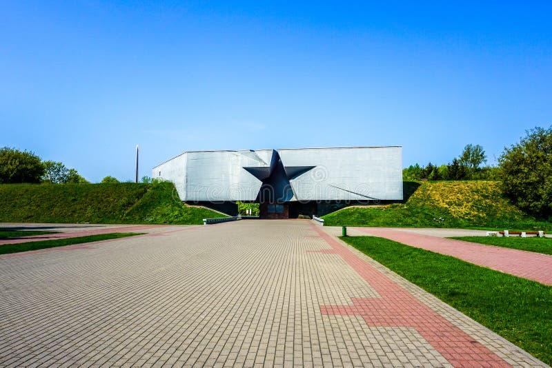 Complexe de héros de forteresse de Brest photographie stock