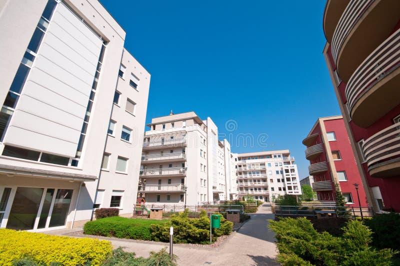 Complexe de logements image stock