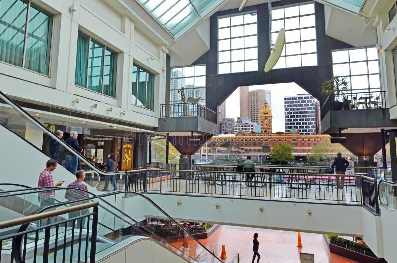 Complexe de magasins de Southgate à Melbourne Southbank Victoria Austr image stock