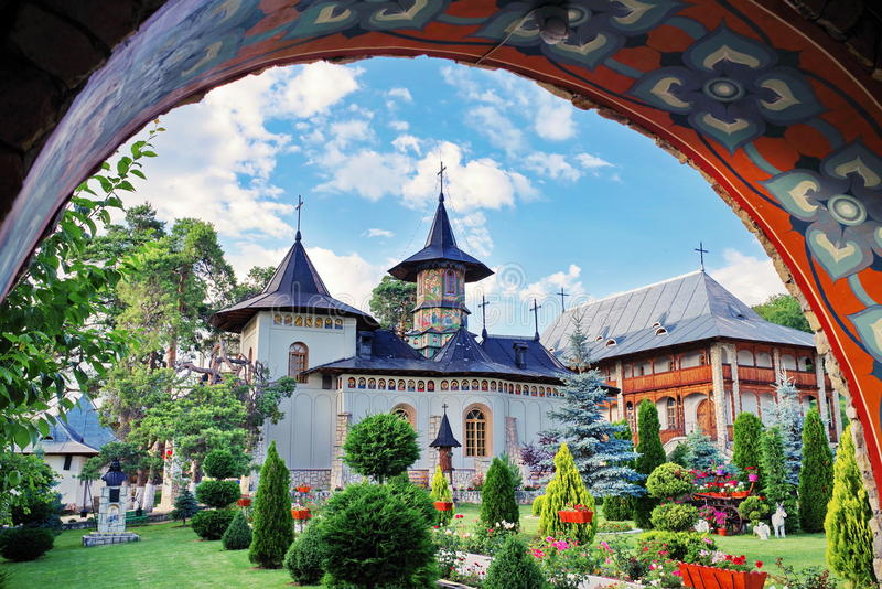 Complexe de monastère photo libre de droits