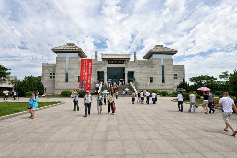 Complexe de musée du mausolée du Qin Emperor de poing photo libre de droits