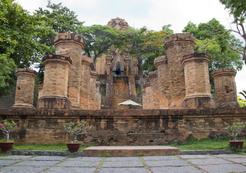 Complexe de temple de PO Nagar photo libre de droits
