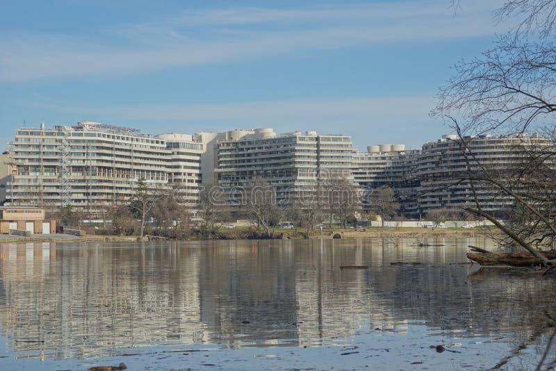 Complexe de Watergate photo libre de droits