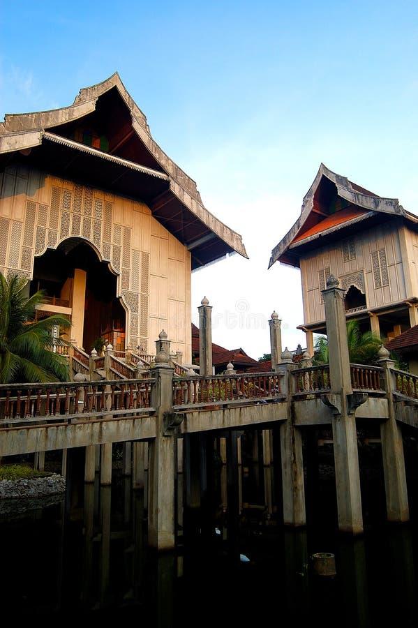 Complexen för Terengganu tillståndsmuseum royaltyfria bilder