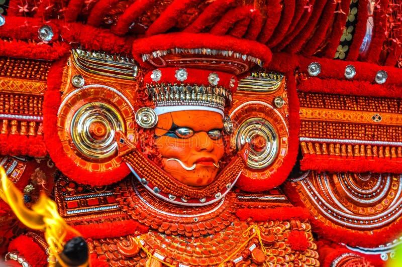 Complexité au Kerala photographie stock