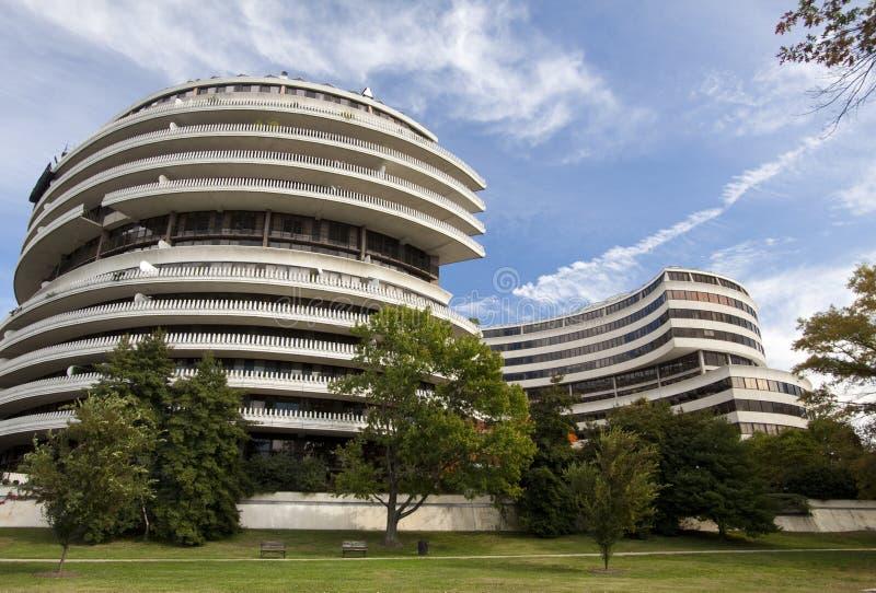 Complexo de Watergate, Washington DC fotografia de stock
