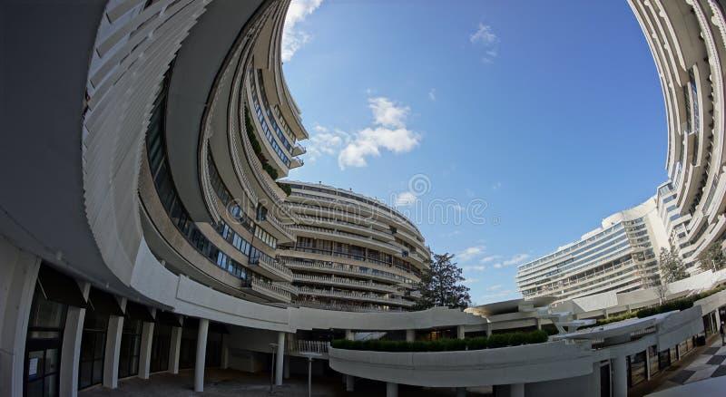 Complexo de Watergate - Washington DC foto de stock