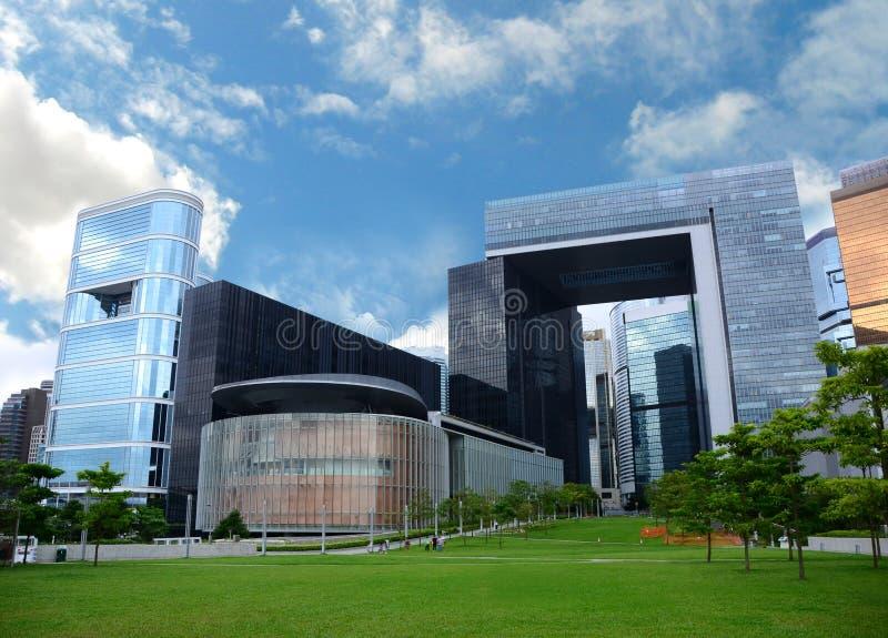 Complexo do conselho legislativo em Hong Kong imagem de stock royalty free