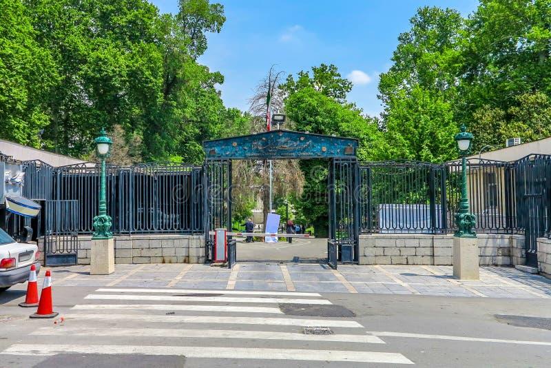 Complexo 01 do palácio de Tehran Niavaran imagens de stock royalty free