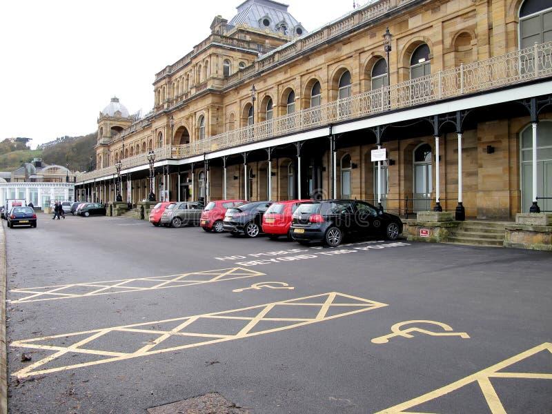 Complexo dos termas, Scarborough, Yorkshire fotos de stock