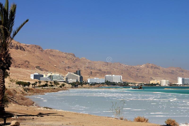 Complexo mundialmente famoso do recurso de saúde no Mar Morto