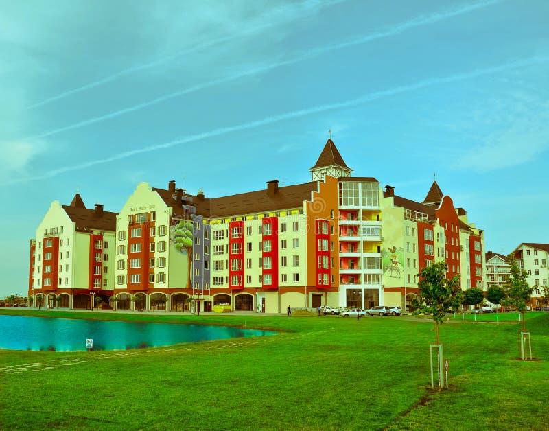 Complexo residencial foto de stock royalty free