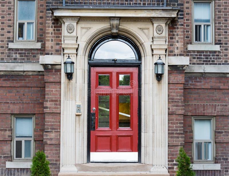 Complexo vitoriano da casa do vintage em Toronto Canadá fotos de stock royalty free