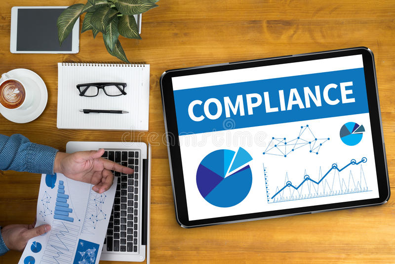 COMPLIANCE stock images