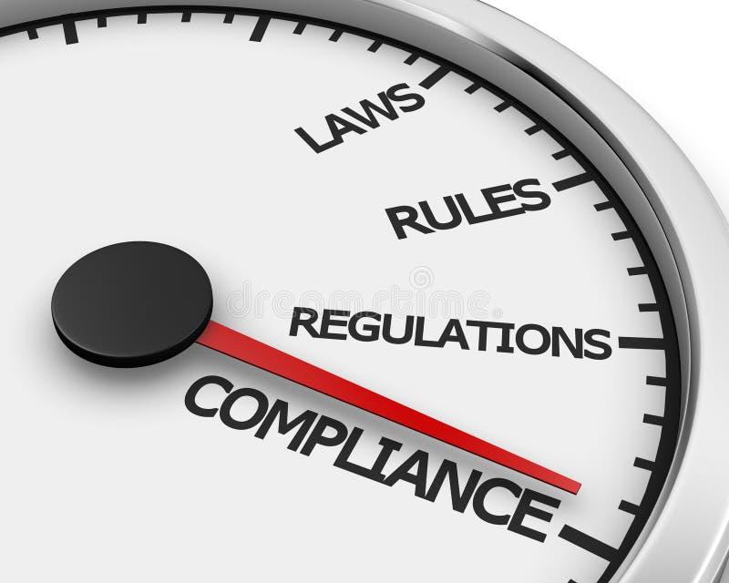 Compliance royalty free illustration