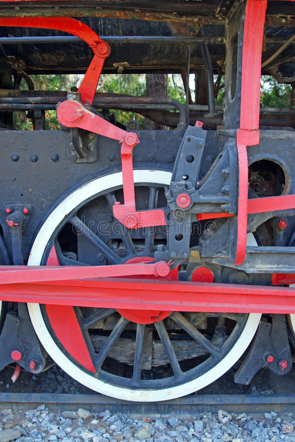 Complicated wheels mechanism royalty free stock images
