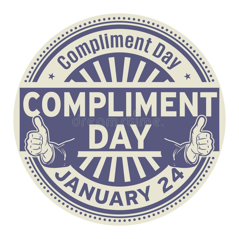Free Compliment Day, January 24 Royalty Free Stock Photography - 135765587