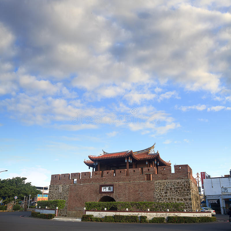 Complot antique célèbre de Hengchun photo libre de droits