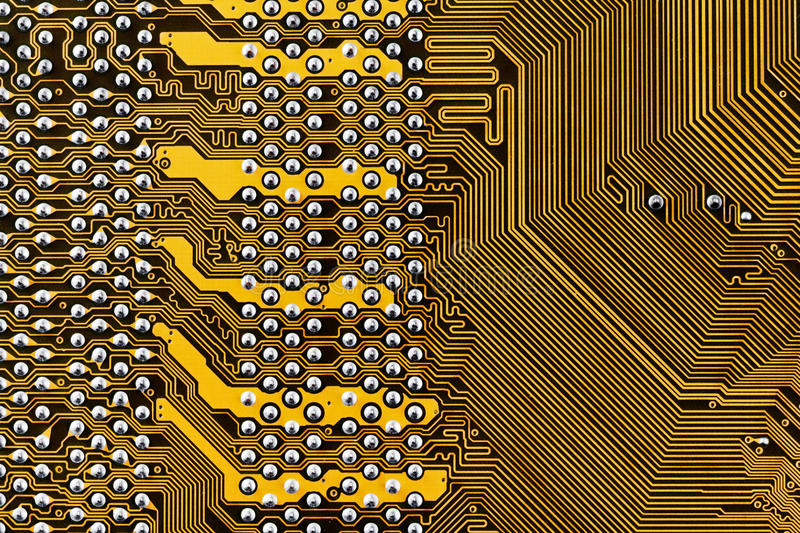 Component circuit board. Background close up stock photos