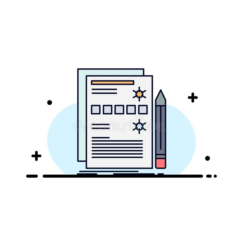 Component, data, design, hardware, system Flat Color Icon Vector stock illustration