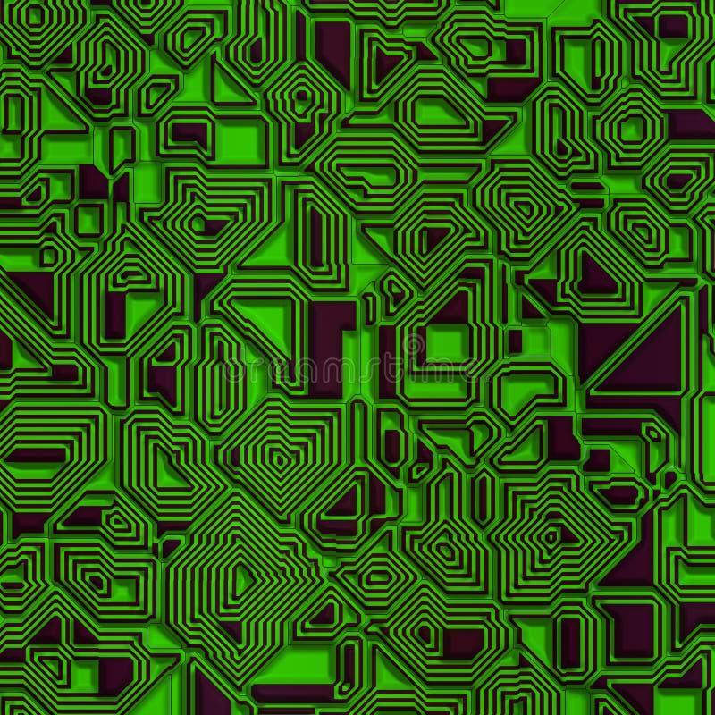 component datordiagram vektor illustrationer