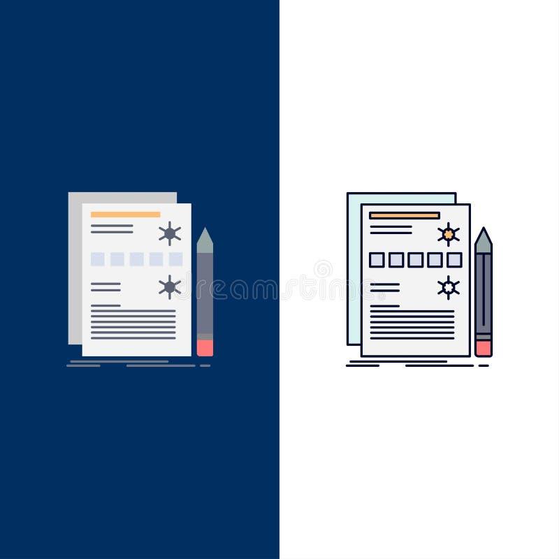 Componente, datos, diseño, hardware, vector plano del icono del color del sistema stock de ilustración