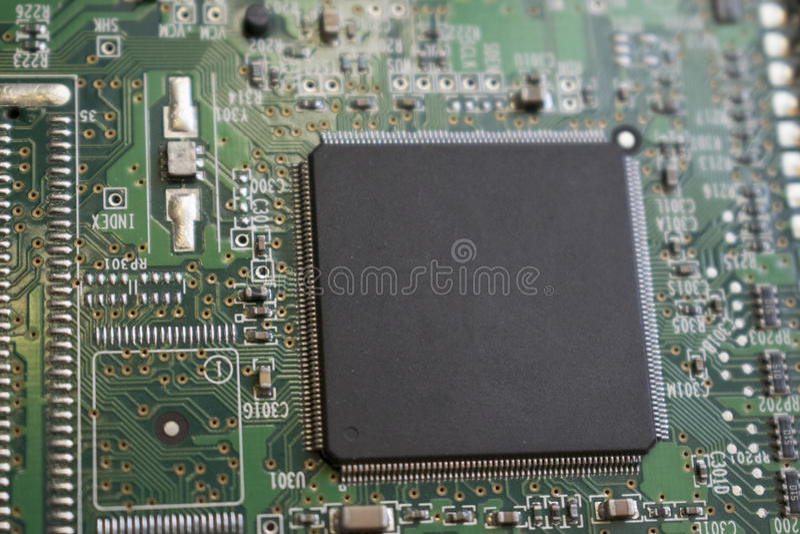 Componente di computer immagine stock