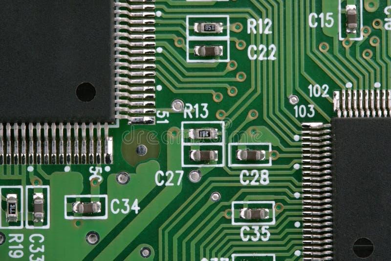 Componente electrónico imágenes de archivo libres de regalías