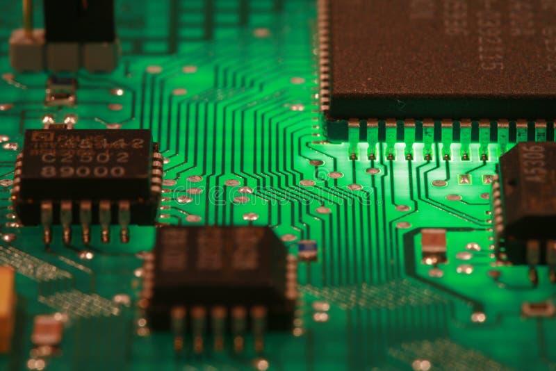 Componente elettronica del calcolatore immagini stock libere da diritti
