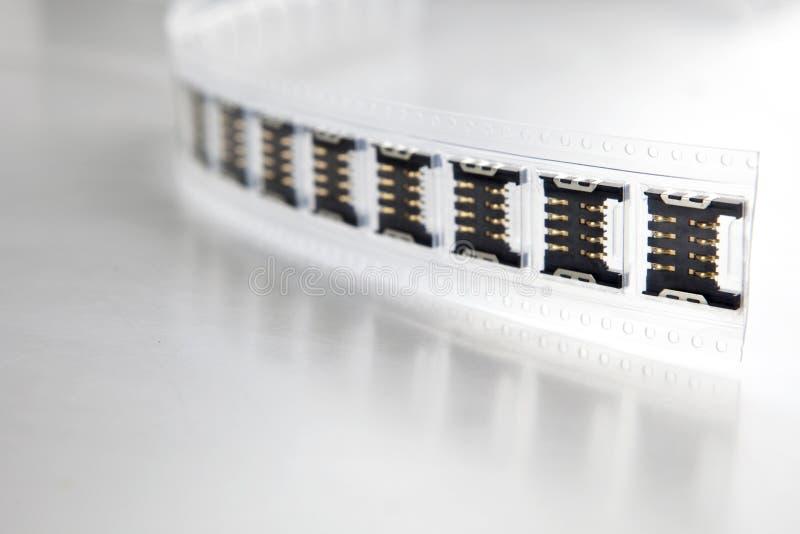 Componenten stock afbeelding