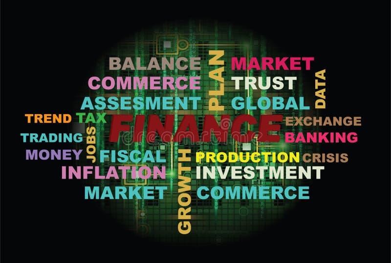 Componentes da finança imagens de stock royalty free