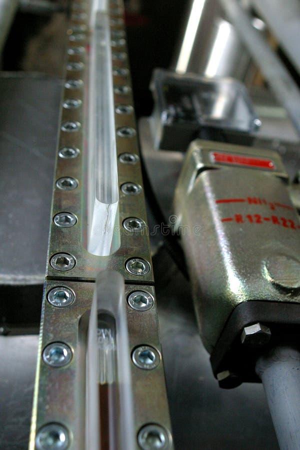 Componentes de la fábrica industrial fotos de archivo
