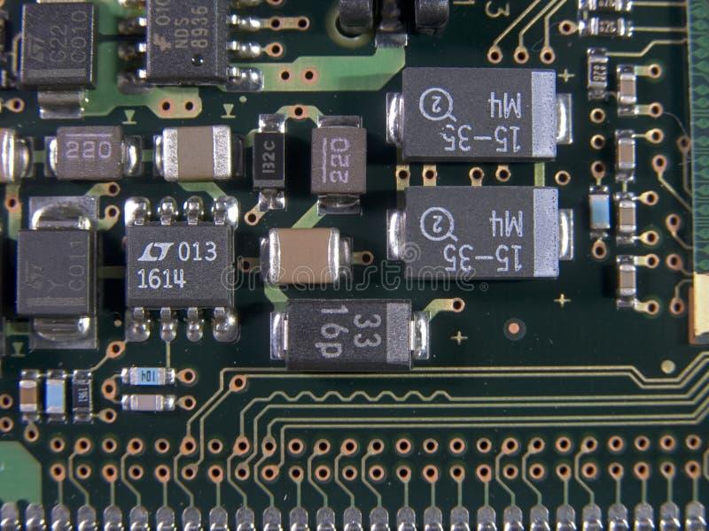 Componentes de superfície da montagem imagens de stock