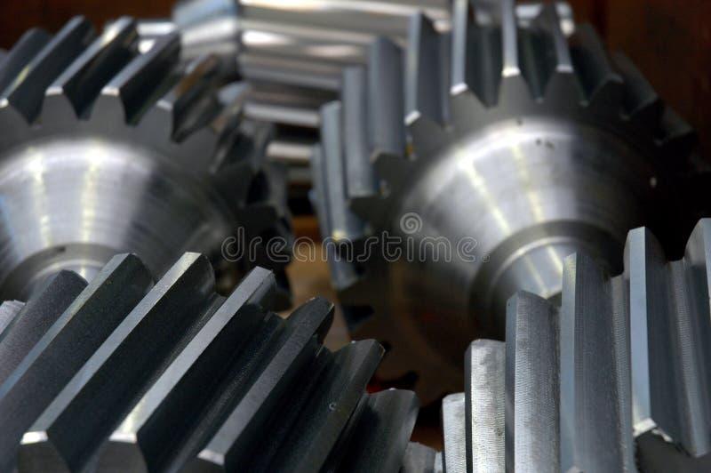 Componentes del metal fotografía de archivo libre de regalías