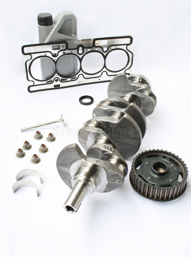 Componentes e peças de motor imagem de stock royalty free