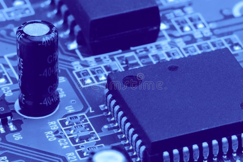 Componenti elettronici immagini stock libere da diritti