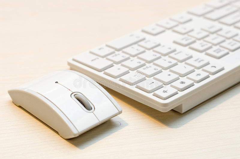 Components of a personal computer: mouse, keyboard