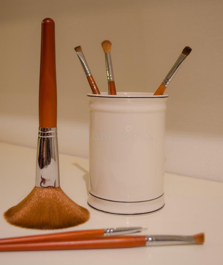 Componga le spazzole fotografia stock libera da diritti