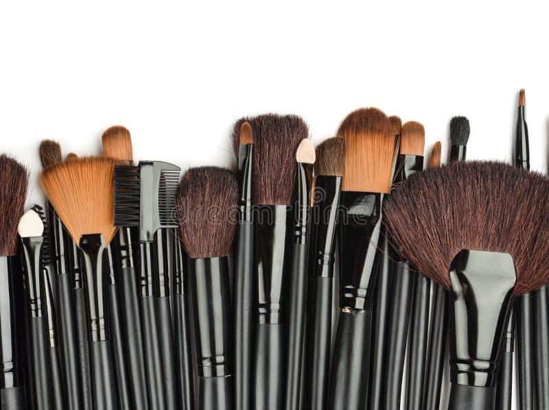 Componga le spazzole fotografie stock