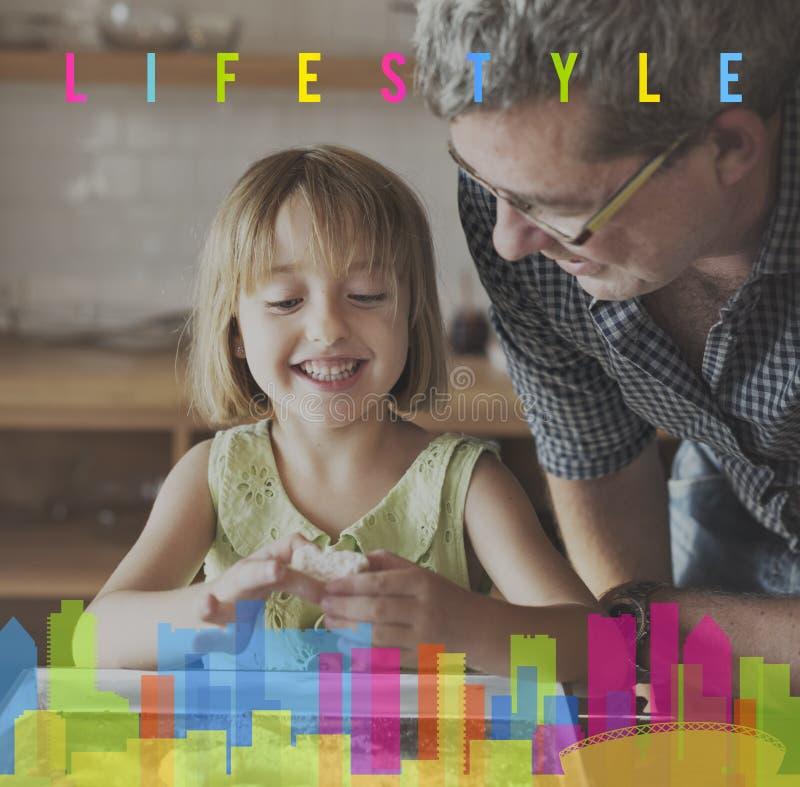 Comportamento Live Your Life Concept di indipendenza di stile di vita immagini stock