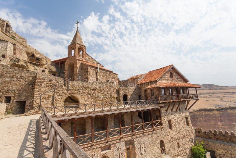 Composé de monastère de David Gareja photos stock