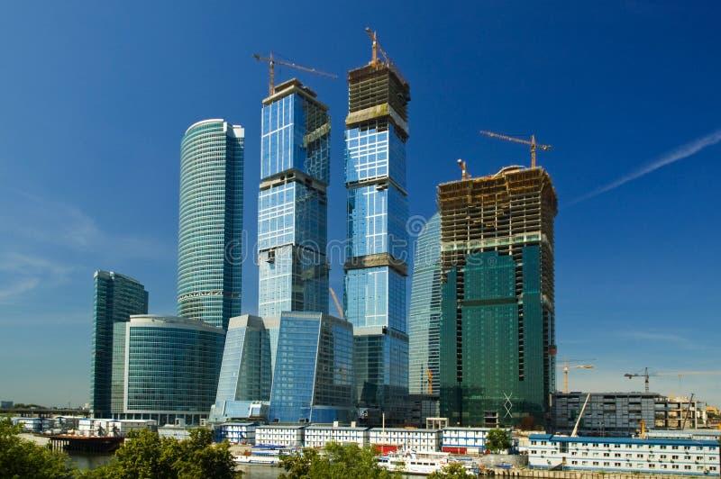 composé de Moscou-ville images libres de droits