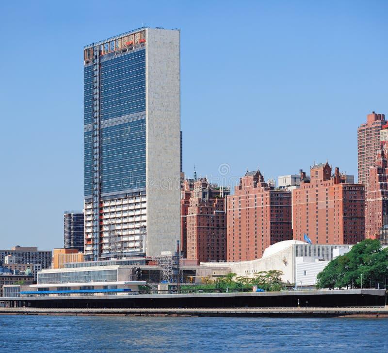 Composé de nation unie à New York City photographie stock