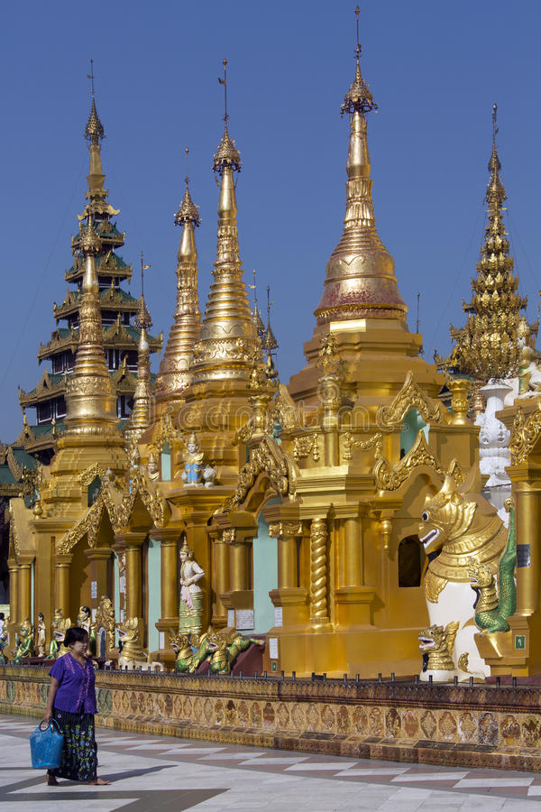 Composé de pagoda de Shwedagon - Yangon - Myanmar