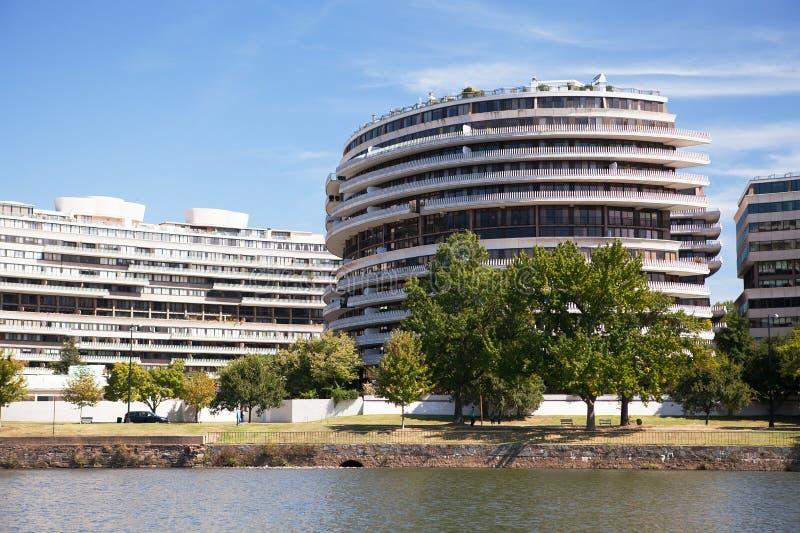 Composé de Watergate, Washington DC photographie stock libre de droits