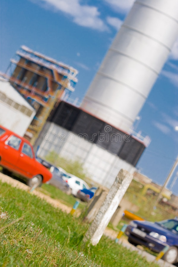 Composé industriel image libre de droits